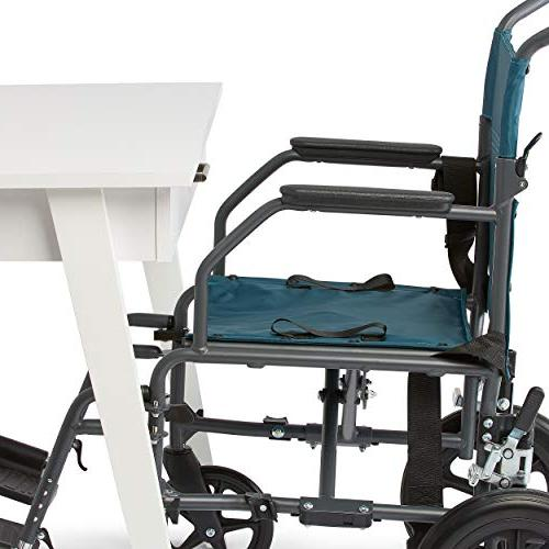 Medline Transport Lightweight Antimicrobial Protection, is inch Back inch Wide Seat,