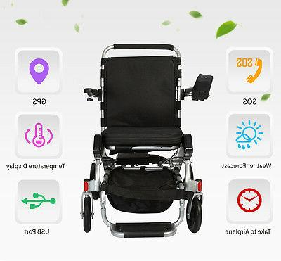 Karman Tranzit Go Foldable Power Wheelchair light weight 51