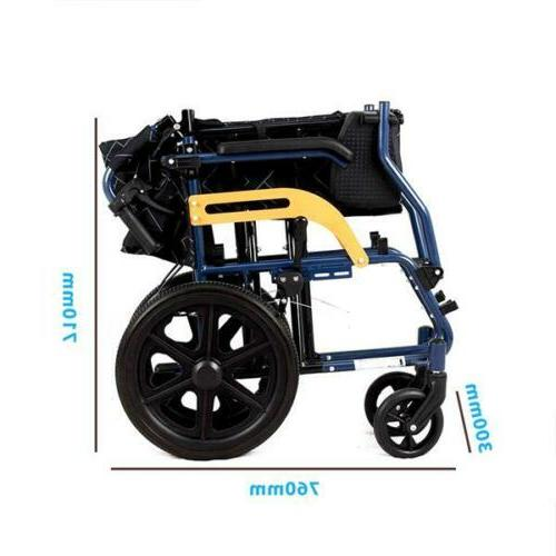 Ultra Aluminium Travel Chair Wheelchair