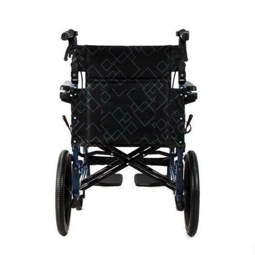 Ultra Aluminium Frame Portable Chair Wheelchair
