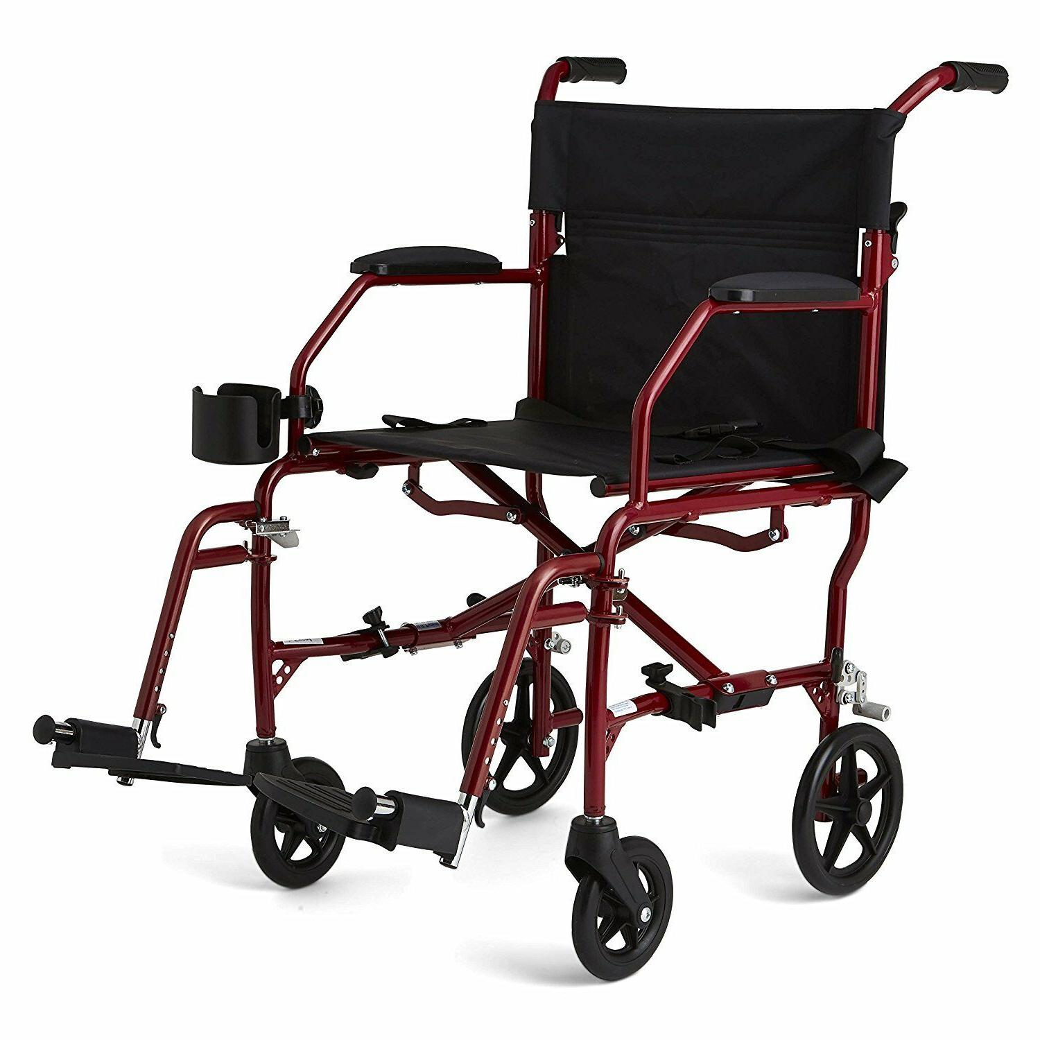 ultralight transport mobility wheelchair 19 wide seat