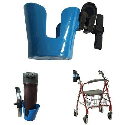 Universal Cup Holder for Wheelchair Walker Rollator Bike Str