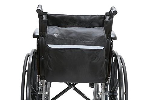 Pembrook Wheelchair - Black - accessory for your mobility devices. Fits Scooters, Rollators Manual, Powered