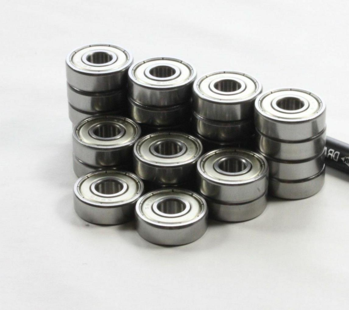 WHEELCHAIR FRONT CASTER WHEEL BEARINGS, FITS STD. 5/16 AXLE,