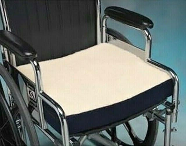 WHEELCHAIR PADDED FLEECE SUPER SEAT CHAIR THICK