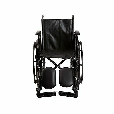 "McKesson Wheelchair Steel 16""W x 16""D Elevating Legrest 146-"