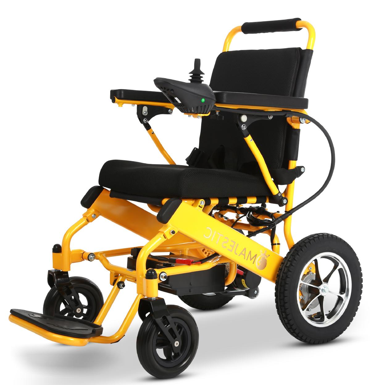 Yellow Control Medical Mobility Power