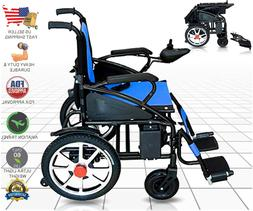 Lightweight Fold Foldable Electric Power Wheelchair Automate