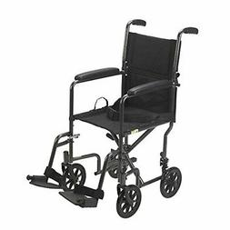 Lightweight Steel Transport Self Propelled Wheelchair with F