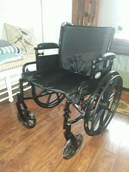 ProBasics Lightweight Wheelchair, Flipback Desk Arms, 18""