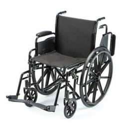 "Probasics Lightweight Wheelchair Folding 18"" Seat w/ Elevati"