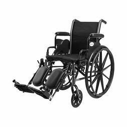"McKesson Lightweight Wheelchair Steel 16""W Swing-Away Footre"