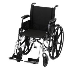 "NOVA Medical Products 18"" Lightweight Wheelchair"