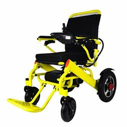 Lithium Battery ComfyGo Mobility 7001 Yellow Foldable Power