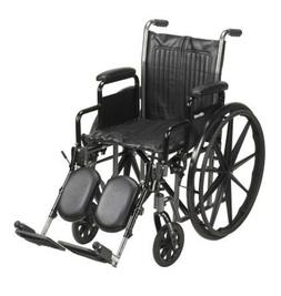 MCKDS Wheelchair McKesson Padded, Removable ArmCompoWhee 16