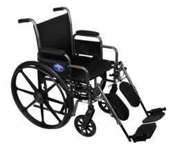 Medline Comfort Driven Wheelchair with Removable Desk Arms a