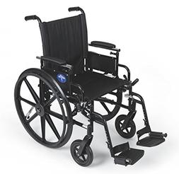 Medline MDS806500PLUS WHEELCHAIR, EXCEL, K4, S/B DLA, S/A EL