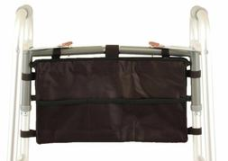 medical products folding walker bag attaches easily