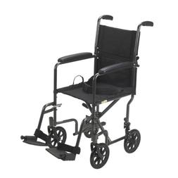 Drive Medical Wheelchair Lightweight Folding Portable Adult