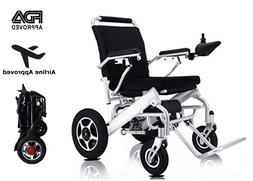 Heavy Duty Aluminum Foldable Wheelchair Electric Power Prope