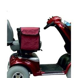 MOBILITY SCOOTER OR WHEELCHAIR SIDE SACK BAG - MAROON. Kozee