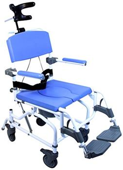 Healthline Medical Products MPU190 Tilt Shower Commode Chair