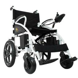 NEW Foldable Electric Wheelchair Lightweight Heavy Duty Dura