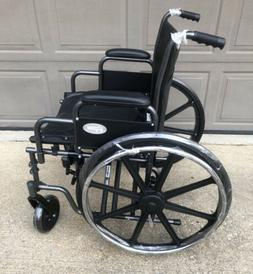 "NEW - PROBASICS K7 EXTRA HEAVY DUTY 22"" Wheelchair w/ Swin"