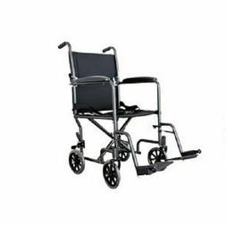 COMBO Lightweight Folding Transport Chair Wheelchair + Reusa