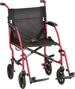 NOVA Medical Ultra Lightweight Transport Chair, Weighs Only