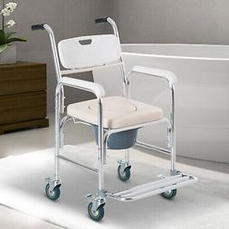 Personal Mobility Assist Waterproof Commode Shower Toilet Tr