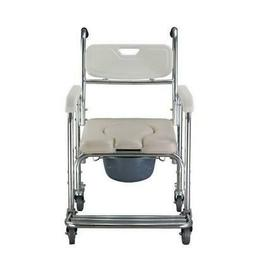 Portable Medical Commode Wheelchair Bedside Toilet&Shower Ch