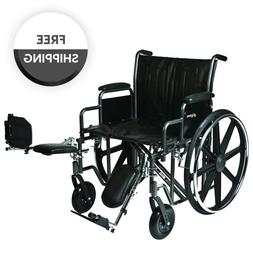 ProBasics K7 Bariatric  Manual Wheelchair With Elevating Leg