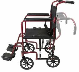 ProBasics Medical TCA1916BG LIGHTWEIGHT Aluminum Transport W