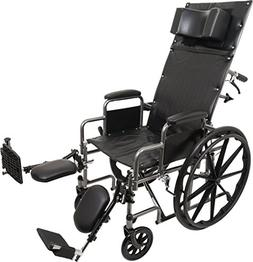 ProBasics Standard Reclining Wheelchair - Padded Detachable
