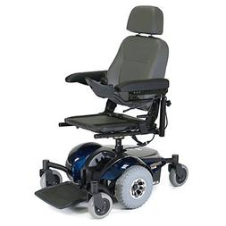 Pronto M41 Power Wheelchair - Van Seat w/Solid Base - Red ,
