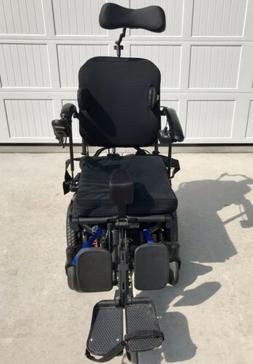 QUICKIE PULSE 6 CUSTOM POWER WHEELCHAIR w/ Head Support, Pow