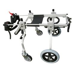 QUAD FULL SUPPORT FOUR 4 WHEEL BEST FRIEND MOBILITY DOG WHEE