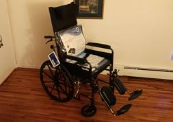 """Drive Reclining Heavy Duty Wheelchair with 22""""W x 17""""D Seat"""