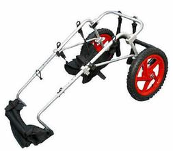 REFURBISHED  BEST FRIEND MOBILITY DOG WHEELCHAIR LARGE ALUMI