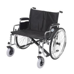 Drive Medical Sentra EC Heavy Duty Extra Wide Wheelchair wit
