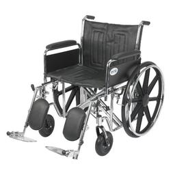 Drive Medical Sentra EC Heavy Duty Wheelchair with Various A
