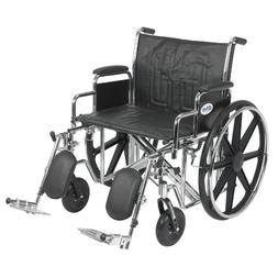 Sentra EC Heavy Duty Wheelchair with Detachable Desk Arms an