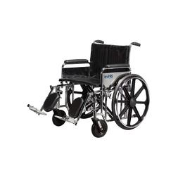 Drive Medical Sentra Extra Heavy Duty Wheelchair with Variou