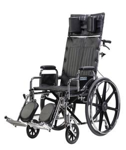 Drive Medical Sentra Reclining Wheelchair with Various Arm S