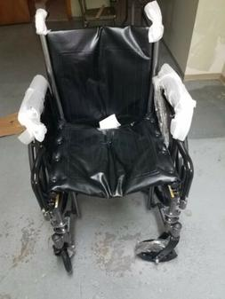 "Silver Sport 2 Wheelchair 18""/Elevating Leg Rest/Detachable"