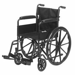 Silver Sport 1 Manual Wheelchair Standard Drive Medical