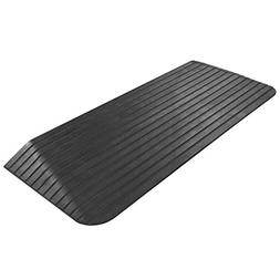 Silver Spring 2 Solid Rubber Power Wheelchair Threshold Ramp