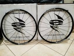"Spinergy Spox Wheelchair Wheels Size 26"" Black Spokes, Silve"