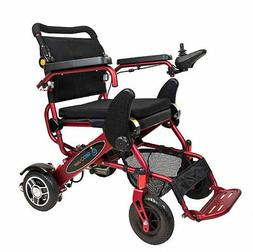 The Geo Cruiser DX Lightweight Foldable Power Chair  with FR